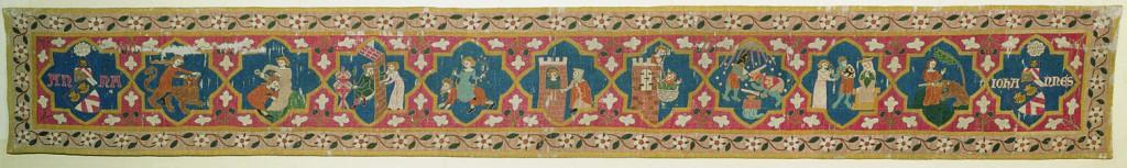 © Augustinermuseum - Städtische Museen Freiburg, Malterer-Teppich, um 1320, Leihgabe der Adelhausenstiftung Freiburg, Foto: Hans-Peter Vieser